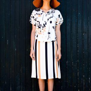 FAM-amelia-skirt-stripes-mia-ecoprint-blouse-floral