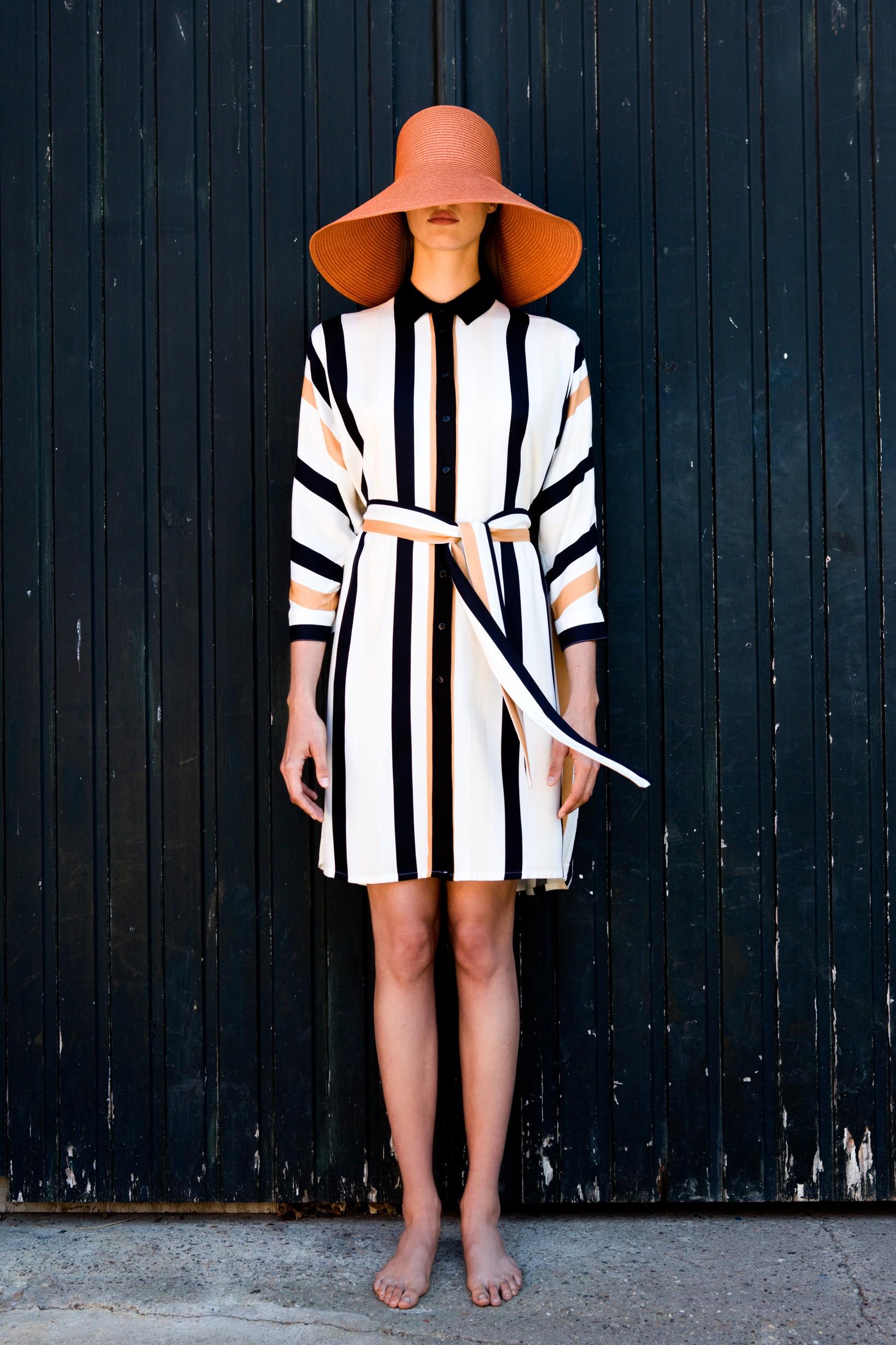 FAM-florine-ecoprint-dress-stripes-2