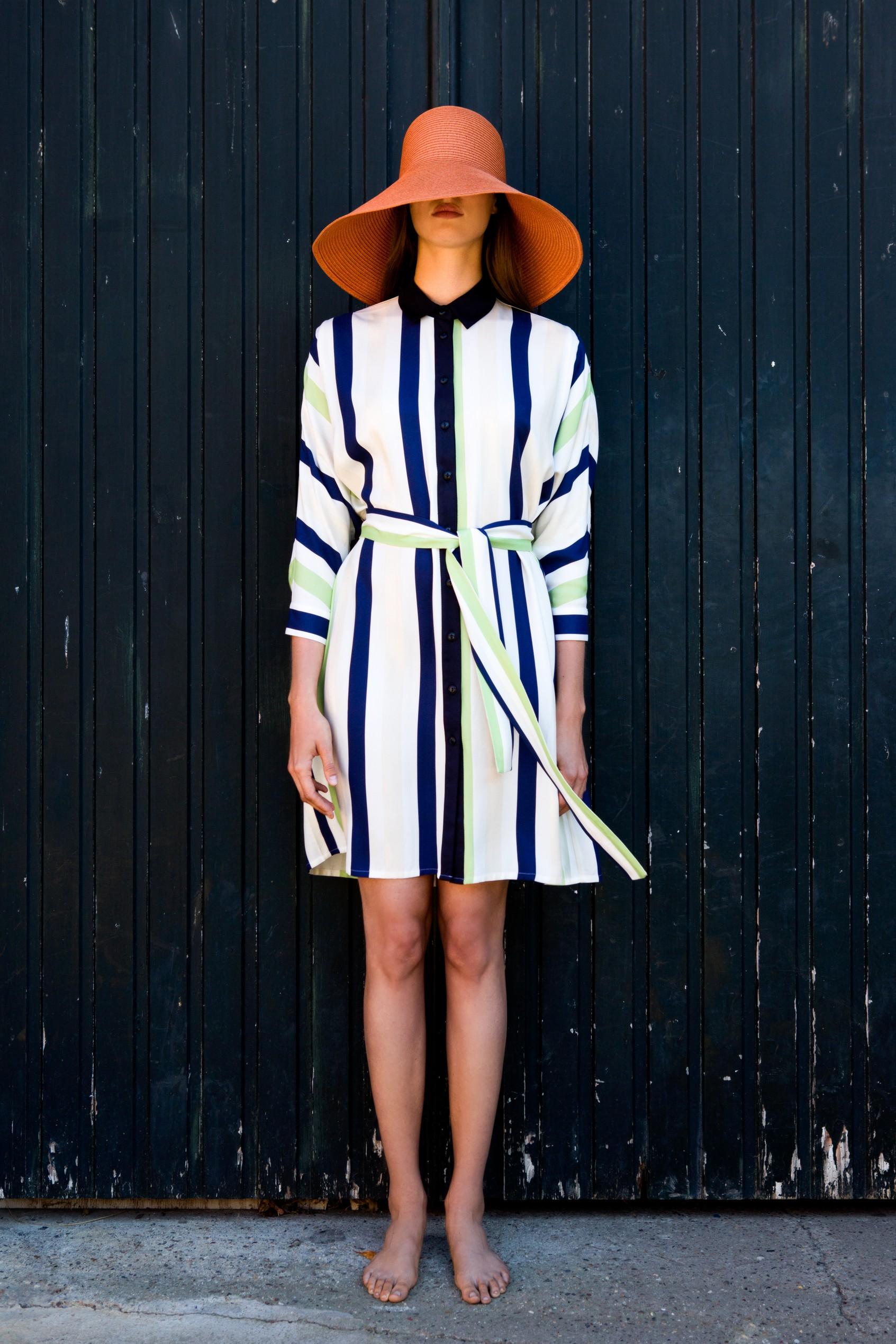 FAM-florine-ecoprint-dress-stripes